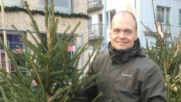 Julgransförsäljare Robertho Settergren