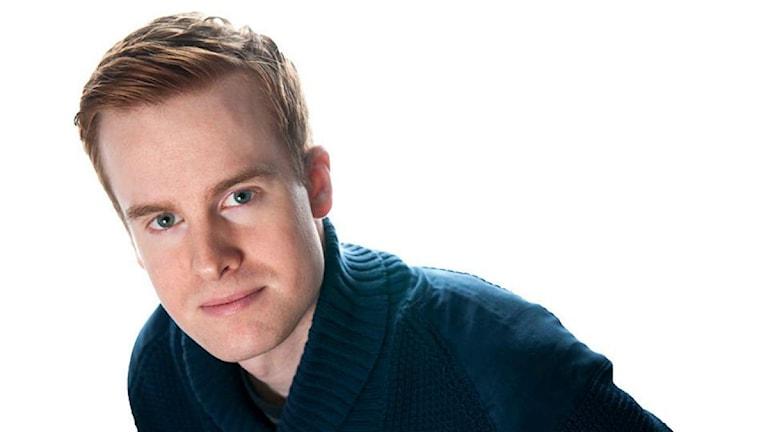 Jesper J Rubin, programledare och redaktör för Vaken med P3 och P4. Foto: Ola Gäverth / Sveriges Radio