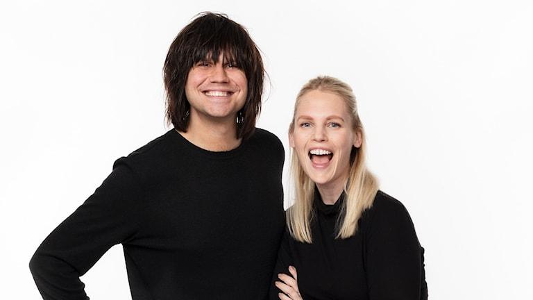 Robert Bendtlinder och Carolin Björnerhag.