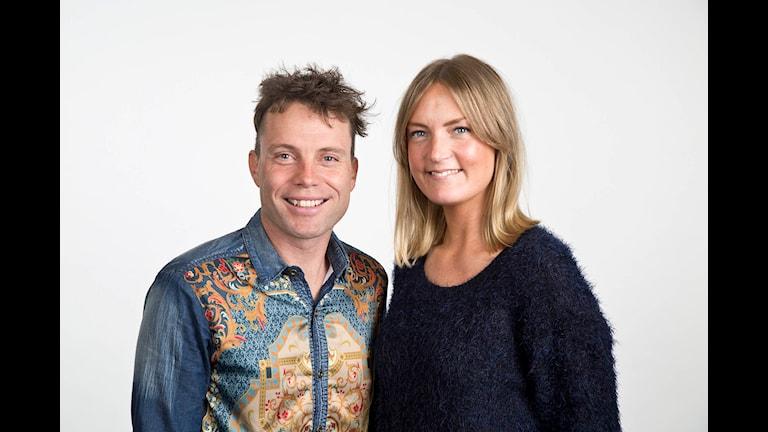 Veckans programledare Henrik och Elin