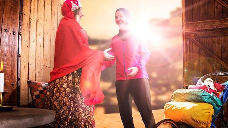 Kristina Paltén ska springa genom Iran. Foto: Daniel Gual