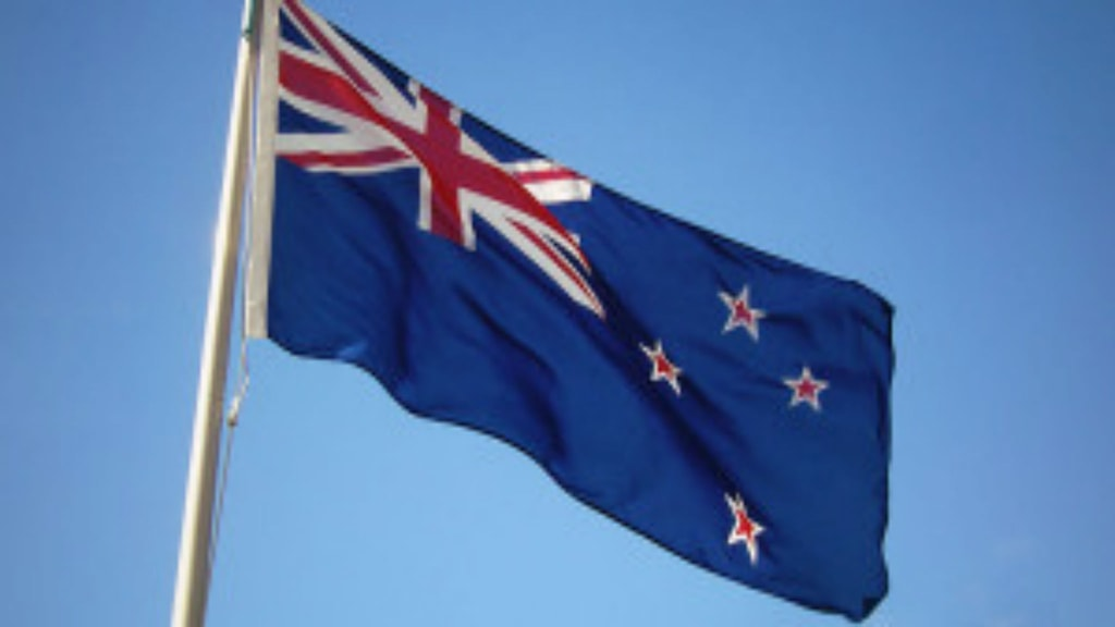 Nya Zeelands nuvarande flagga