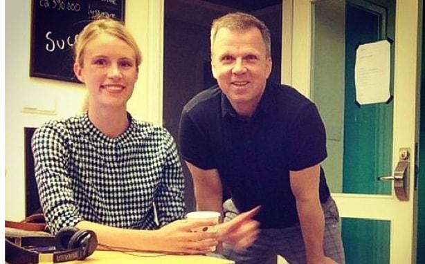 Isabelle Berglund och Richard Herrey