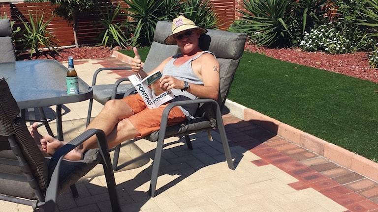 Peter Lehtonen njuter av livet i Perth, Australien