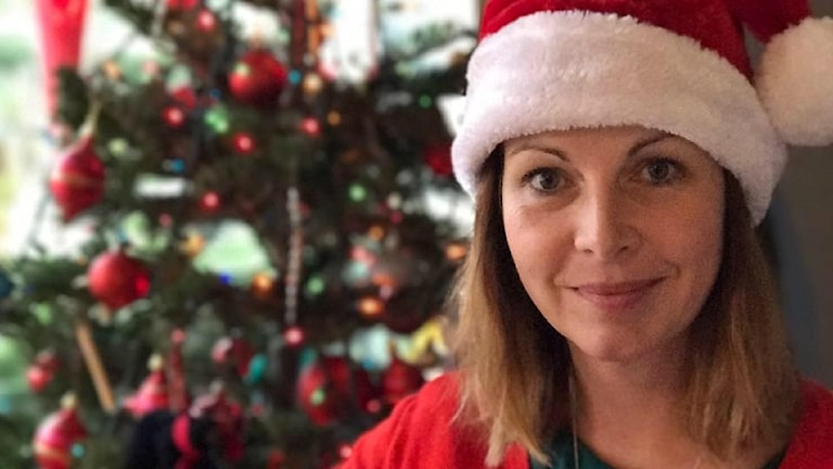 Maria Svemark firar jul