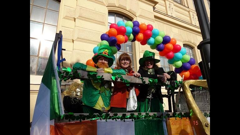 St. Patricks paraden 2015. Fotograf: Mark Ennis
