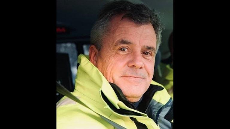 Fredrik Ståhle, polisinspektör Region Stockholm Trafiksektionen