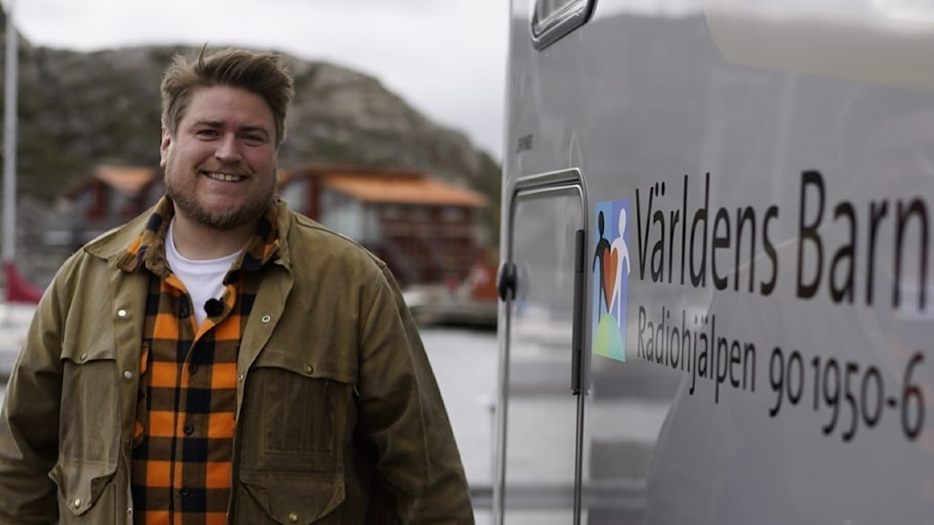 Erik Ekstrand träffar svenskar som ger till Världens Barn på de mest kreativa sätt