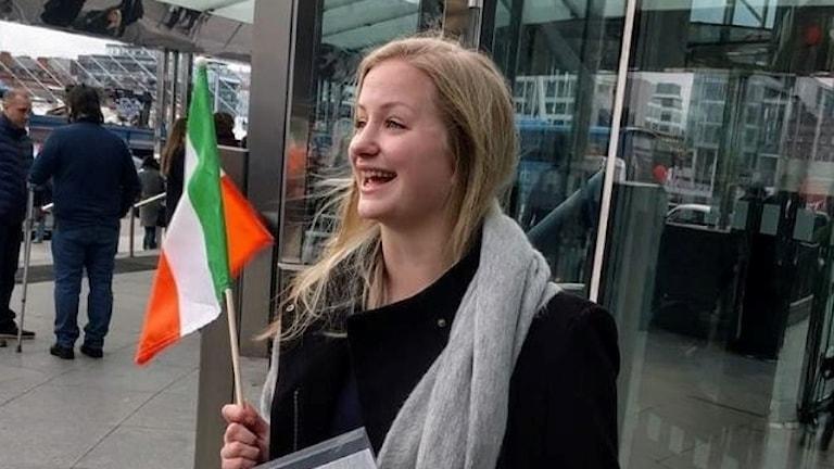 Elsa Ebbersten bor i Dublin, Irland
