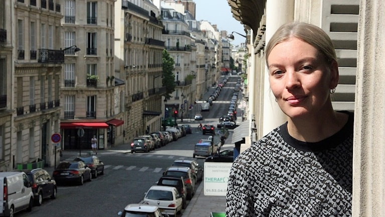 Det råder fotbollsfeber i Frankrike säger Sara Sundberg i Paris