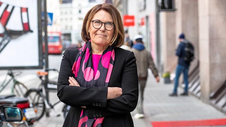 Karin Johansson, vd Svensk Handel