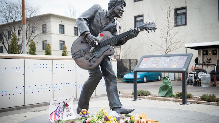 Chuck Berry död