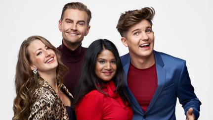 Louise Nordahl, Christian Åkesson, Shanthi Rydwall-Menon och Daniel Norberg är gänget bakom nya Mumbo Jumbo i TV4