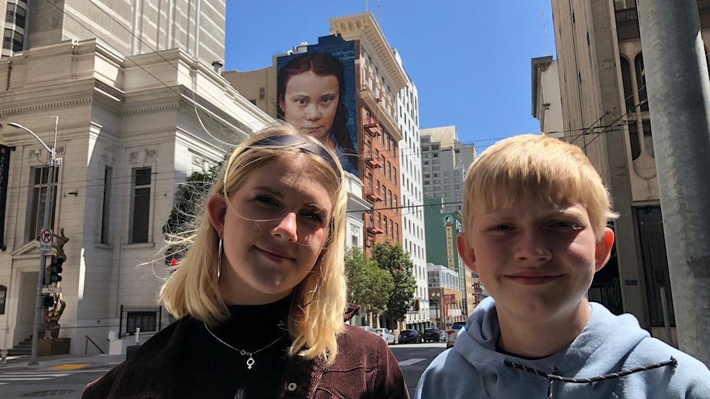 Isa och Ivar och Greta Thunberg