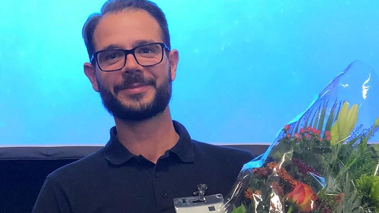 Jimmy Ström är bäst i Sverige på att putsa fönster