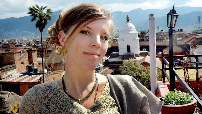 Jenny Adhikari i Kathmando