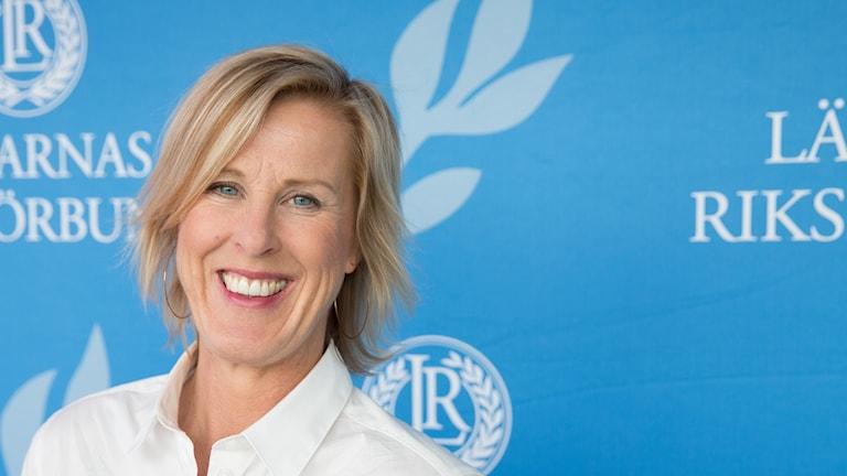 Åsa Fahlén, förbundsordförande Lärarnas Riksförbund