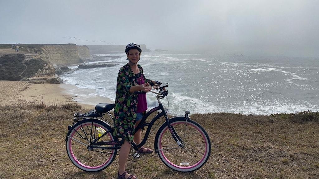 Maria Svemark cyklar