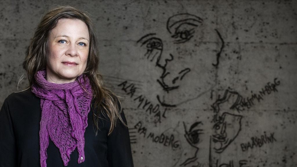 Karin Carlsson, historiker, forskare Stockholms Universitet