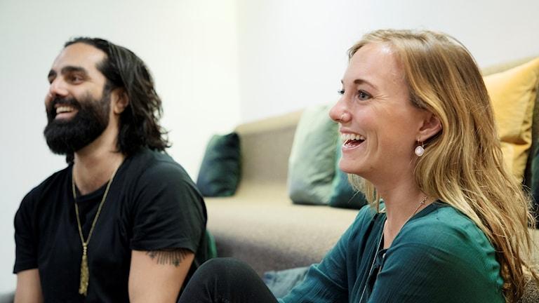 Navid Modiri och Victoria Palm