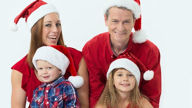 Anna Maria Moonen och hennes familj i Texas