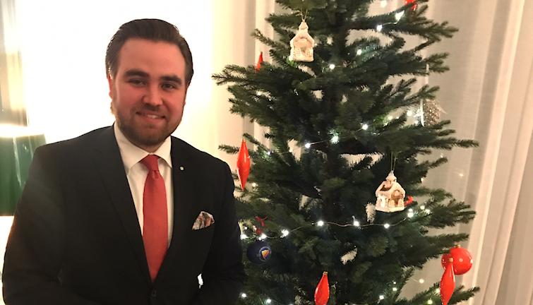 Gustaf Reinfeldt älskar julen och vill ha ett julkvartal