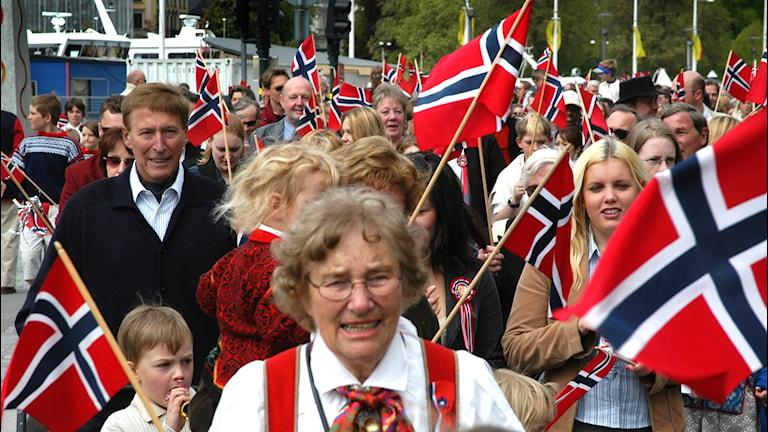Norge firar.