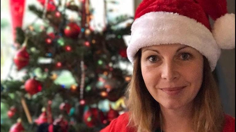 Maria Svemark väntar inte på julen, hon och familjen firar jul i helgen. På Julafton åker dom till Costa rica
