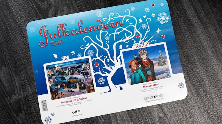 Julkalendern 2015.