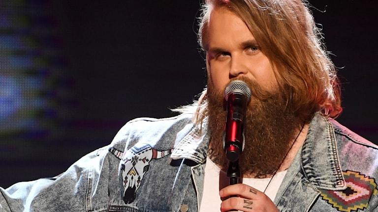 Idol-Chris Kläffords skägg