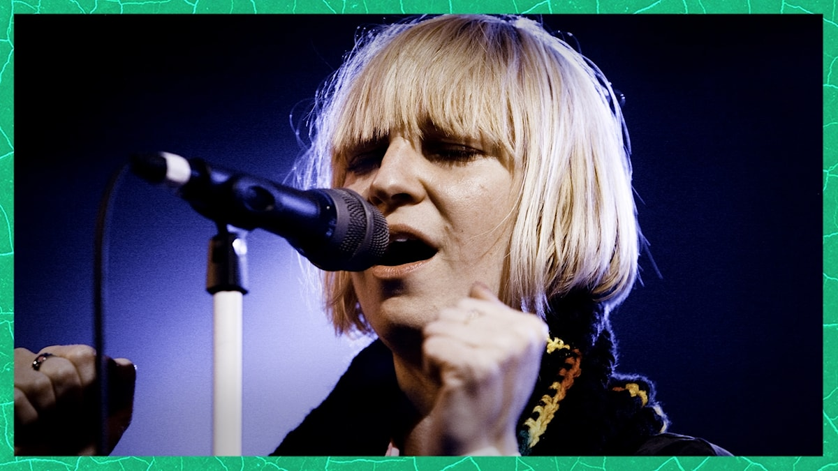 Bild på artisten Sia.