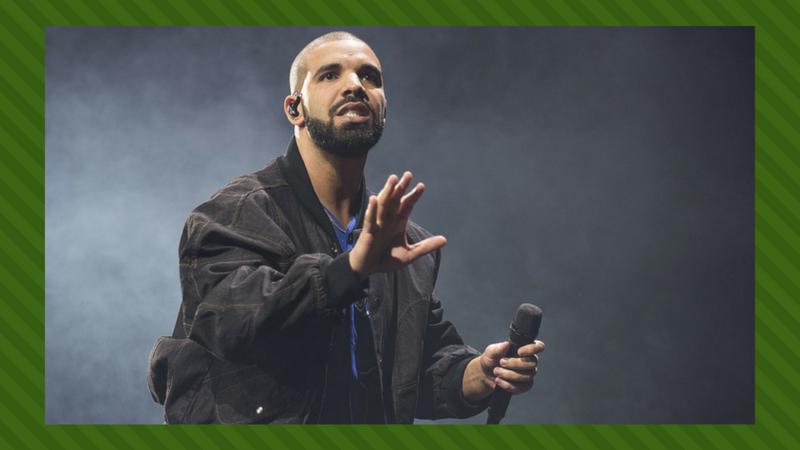 Drake rör om toppen