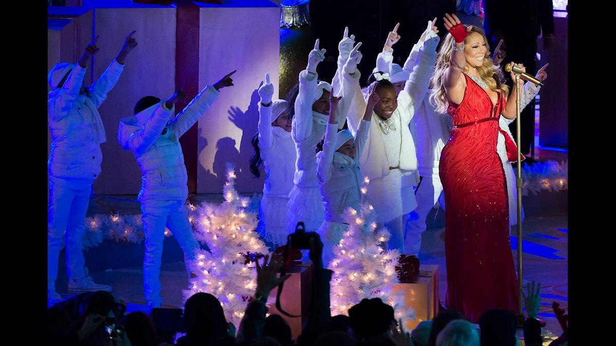 Klassiska jullåtar. Foto: Charles Sykes/TT