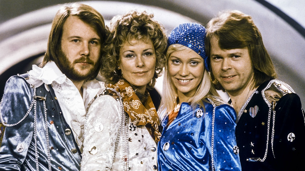ABBA. Foto: Olle Lindeborg/TT