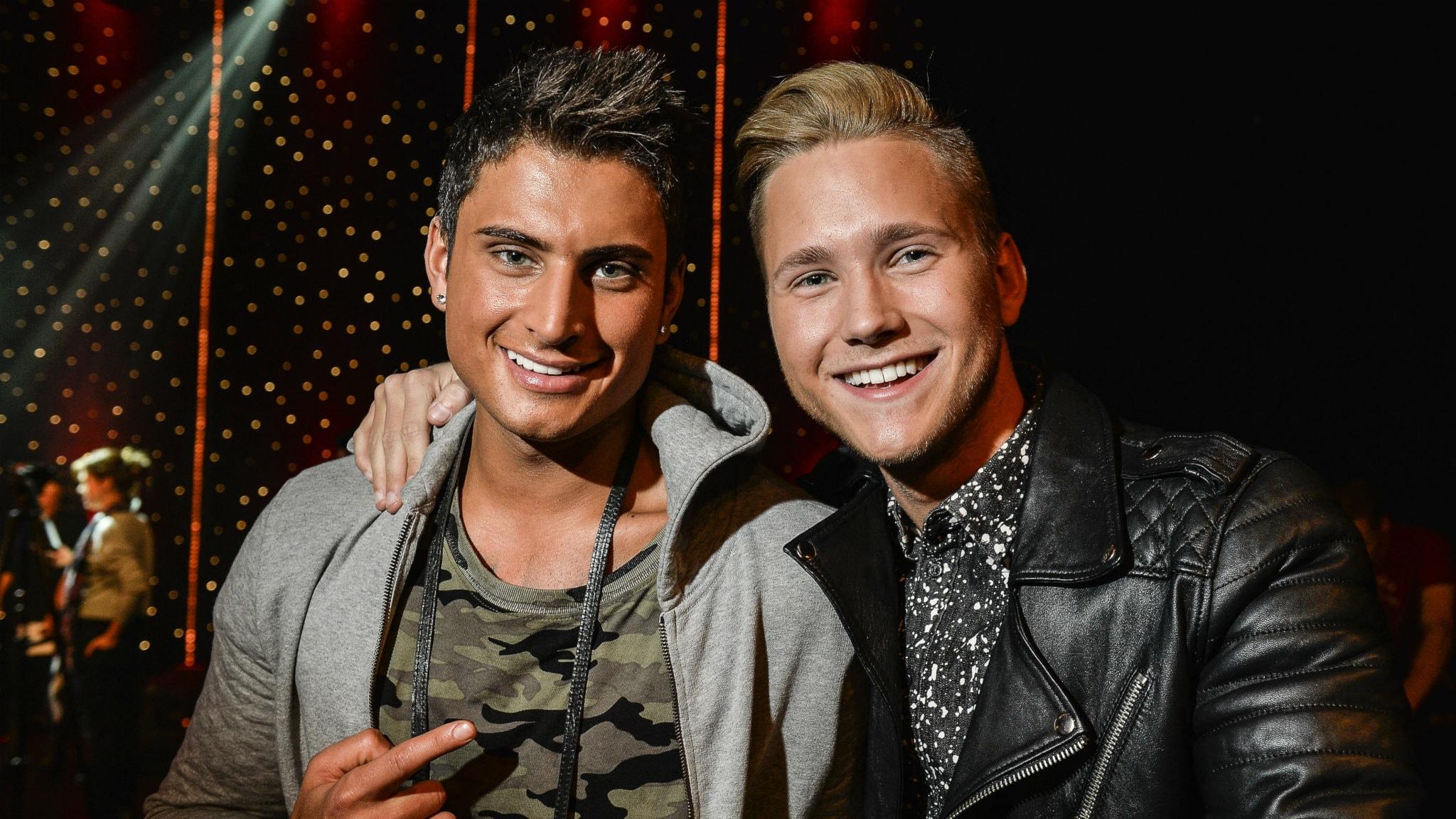 Samir & Viktor. Foto: Anders Wiklund/TT