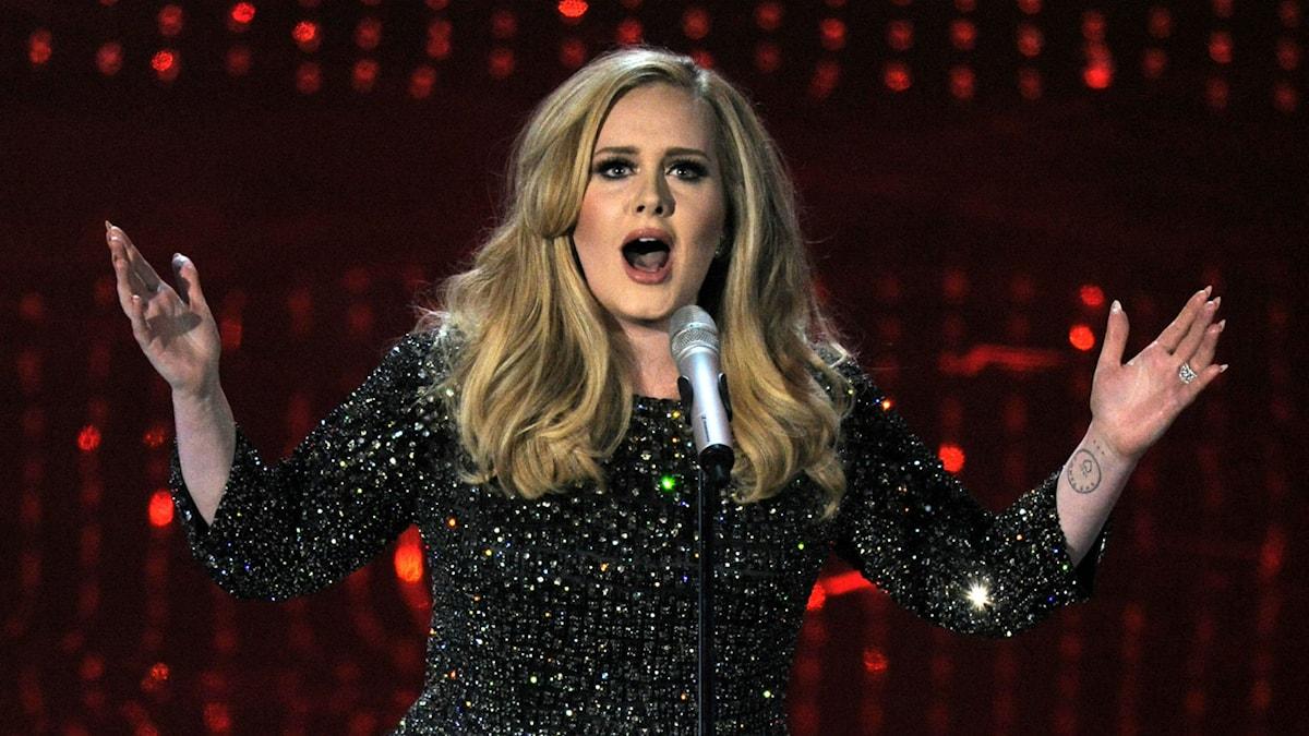 Adele. Foto: Chris Pezzello/TT
