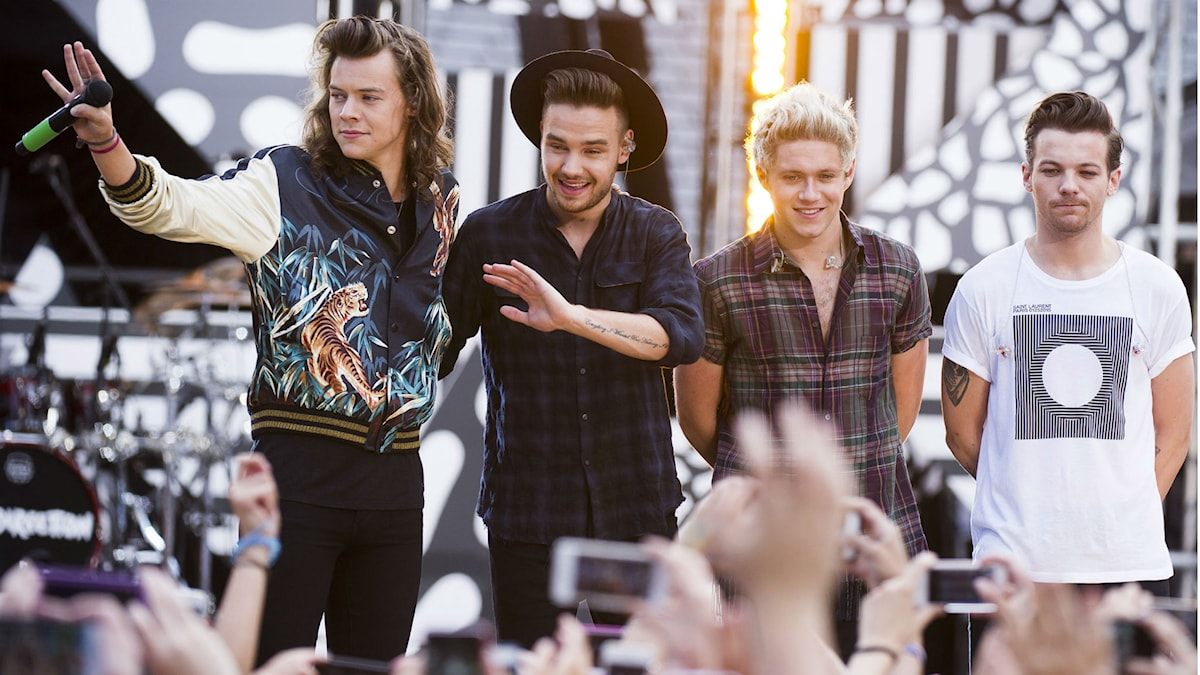 One Direction. Foto: Charles Sykes/TT
