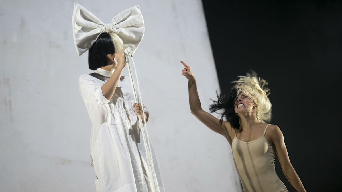 Sia på Way Out West.