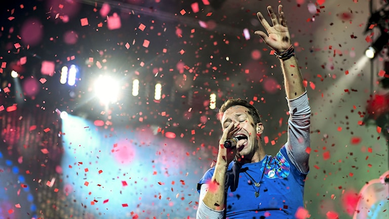 Coldplay i Stockholm.