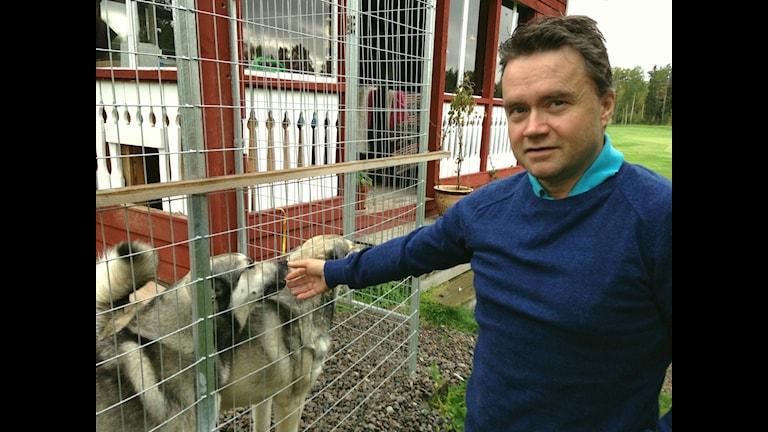 Magnus Rehnfeldt ordförande Mittådalens sameby/Foto: Fredrik Vestberg