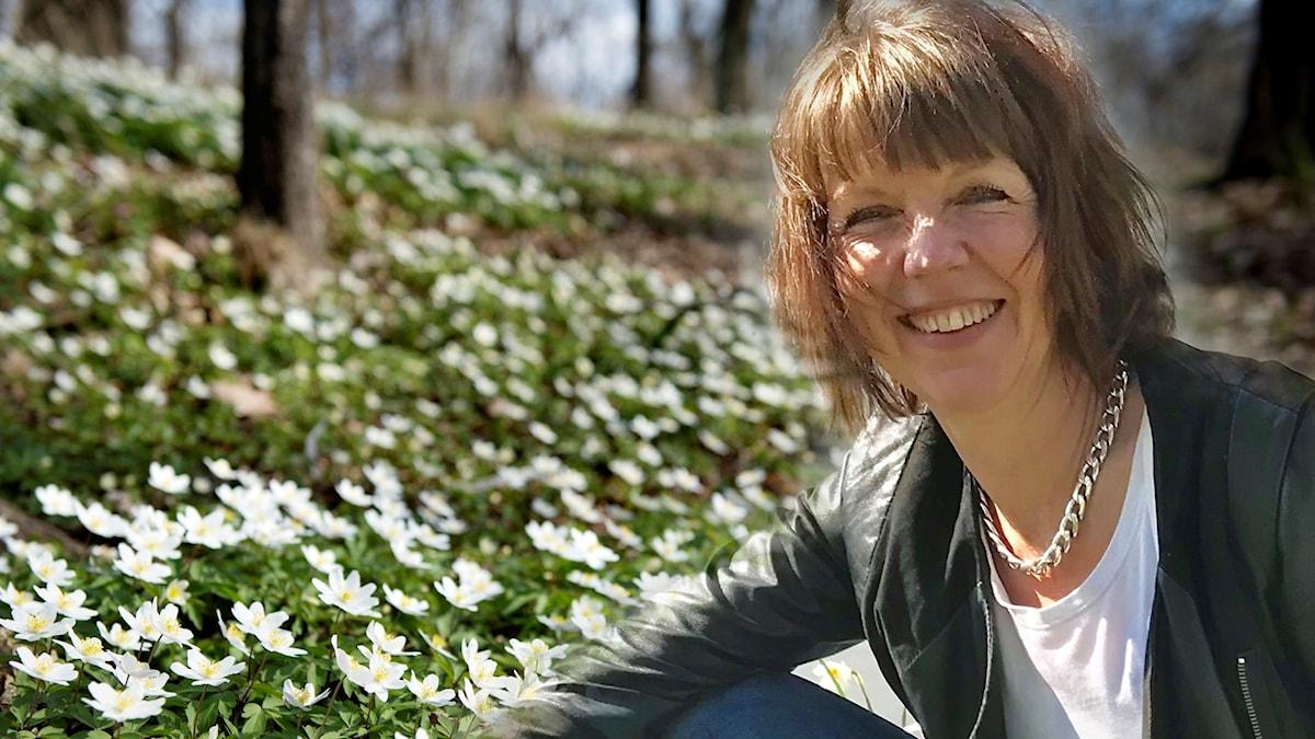 Anna Hanspers, programledare.