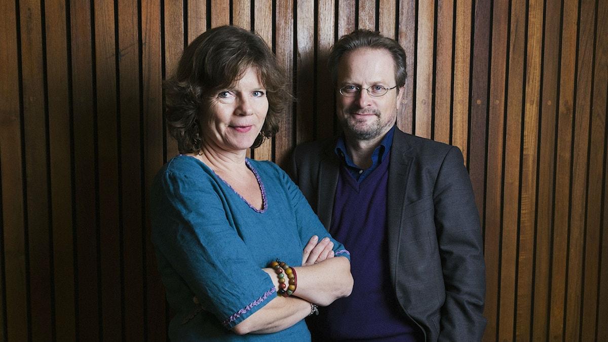 Lena Nordlund och Karsten Thurfjell
