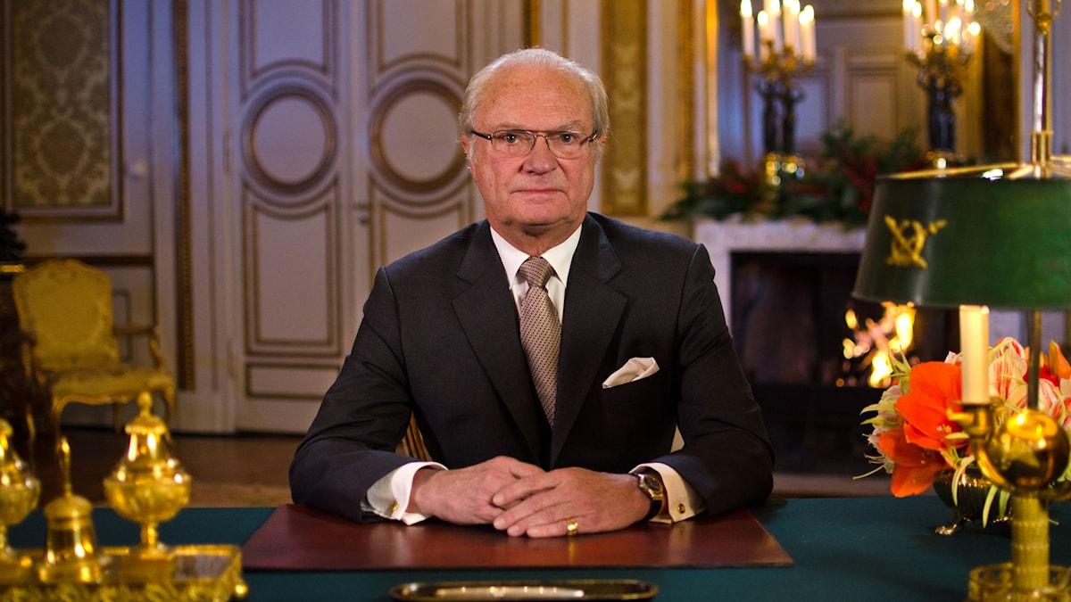Kung Carl XVI Gustaf. Foto: Benjamin J. Sollner/SVT
