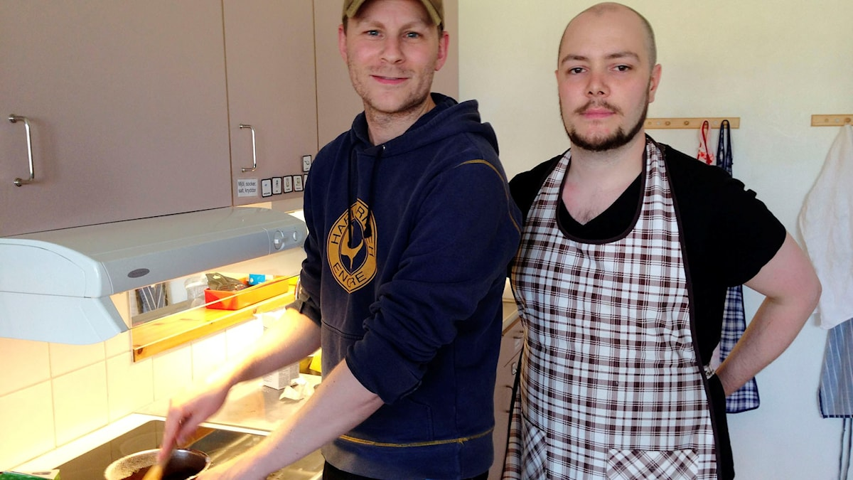 Magnus och Andreas Jacobsson, Pajala. Foto: Helene Alm/Sveriges Radio
