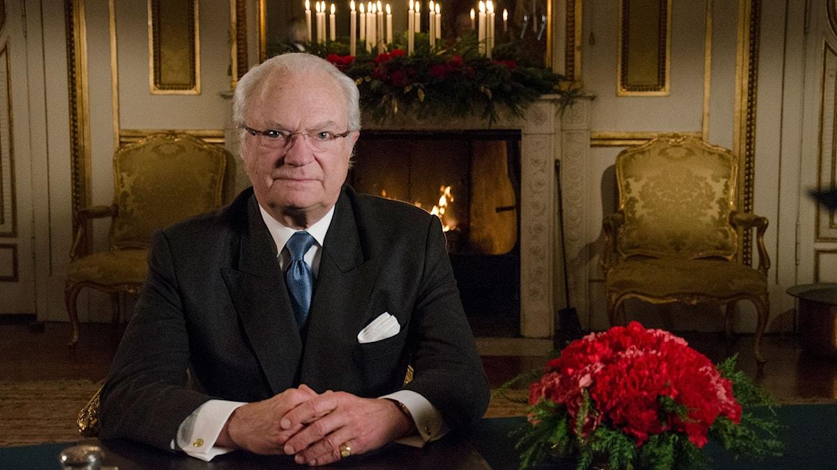 Carl XVI Gustaf. Foto: Sven-Åke Visén/SVT