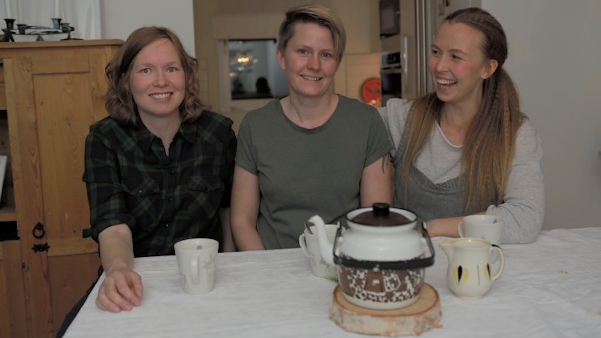 Sara Blind, Malin Sundberg, Sofia Jannok