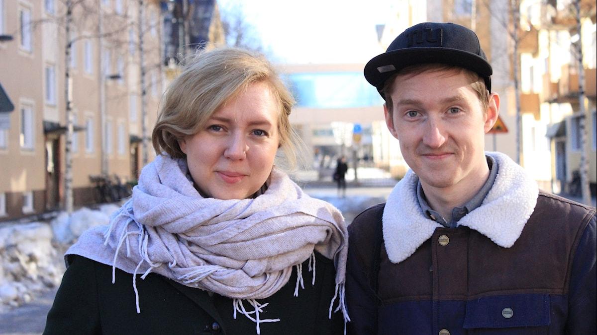 Joakim Silverdal och Emelie Svedjer