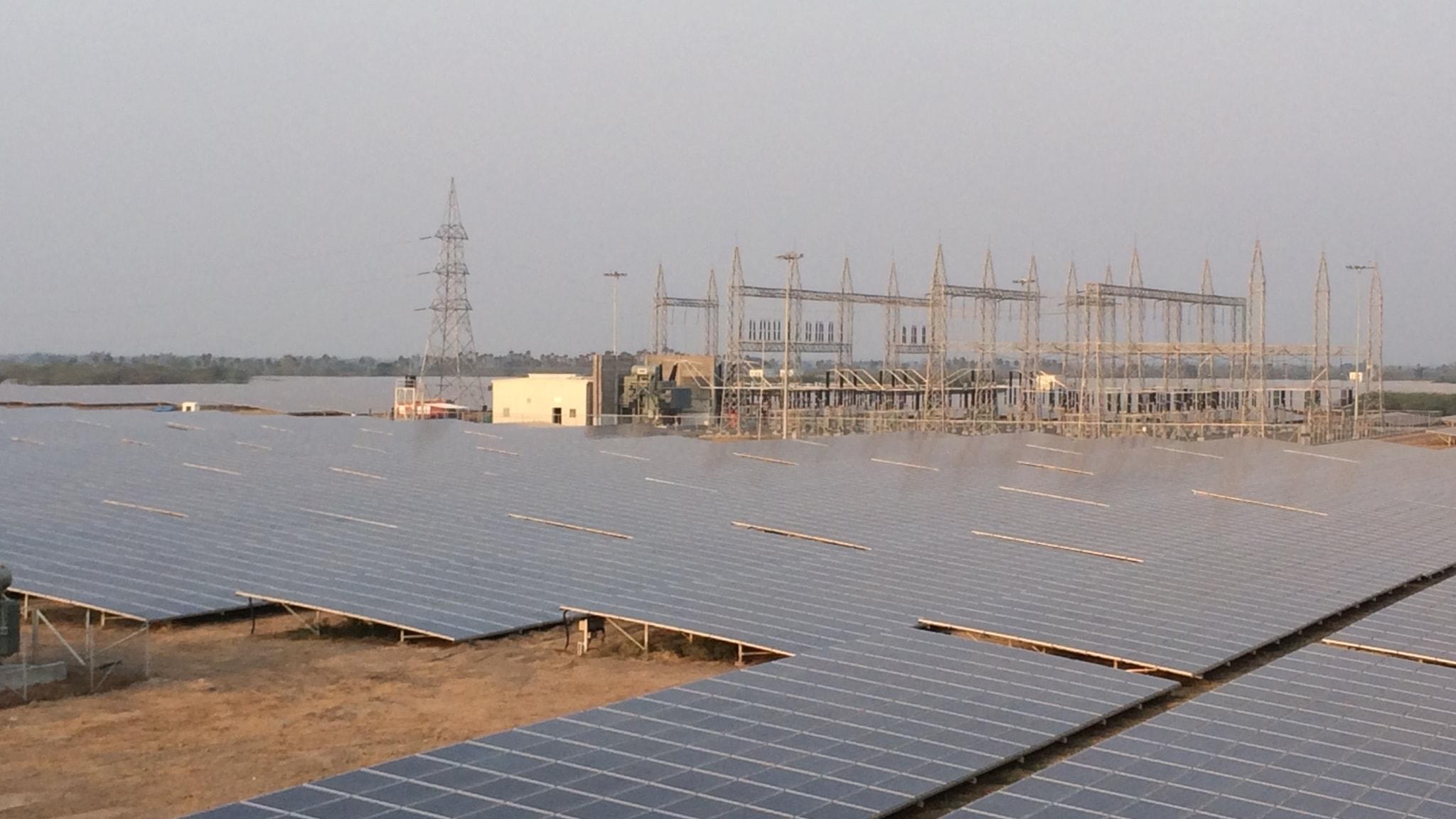 Kamuthi solkraftspark