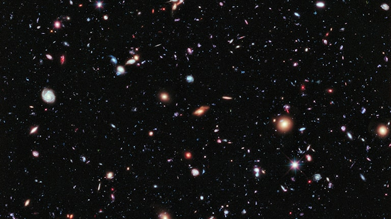Hubbleteleskopets djupaste vy mot universum.