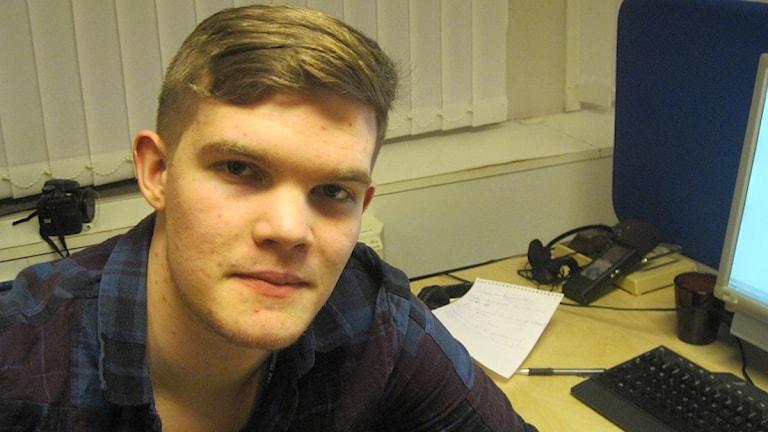 Ludvig Drevfjäll. Foto: Katarina Larsson/Sveriges Radio Sörmland